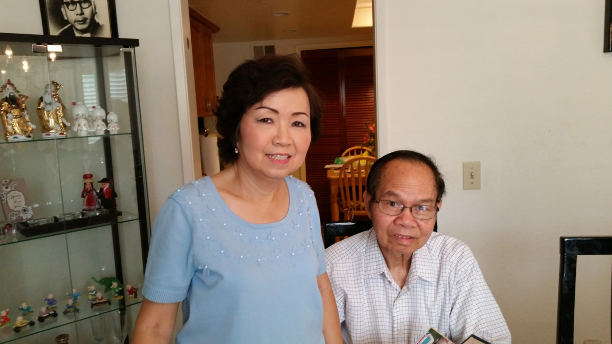Lana and Nam Luu. (Photo: Courtesy of Lana Luu)