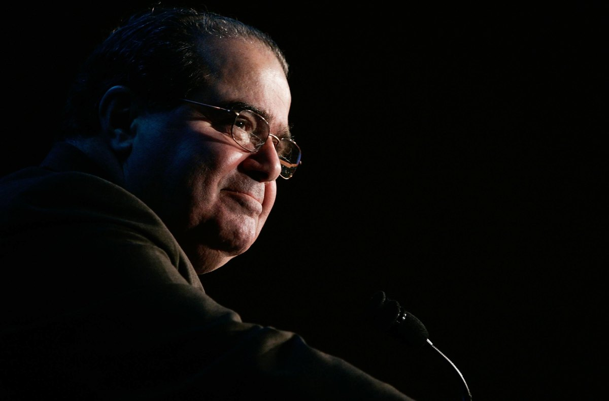 Antonin Scalia scotus