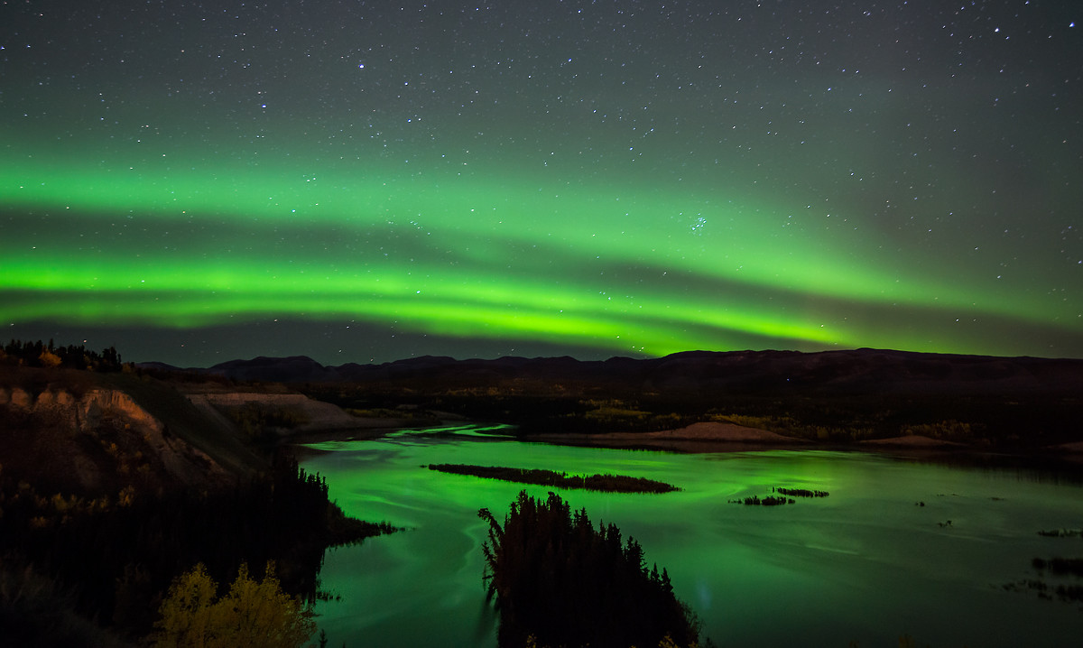 Looking north on the Yukon River. (Photo: Keith Williams/Flickr)