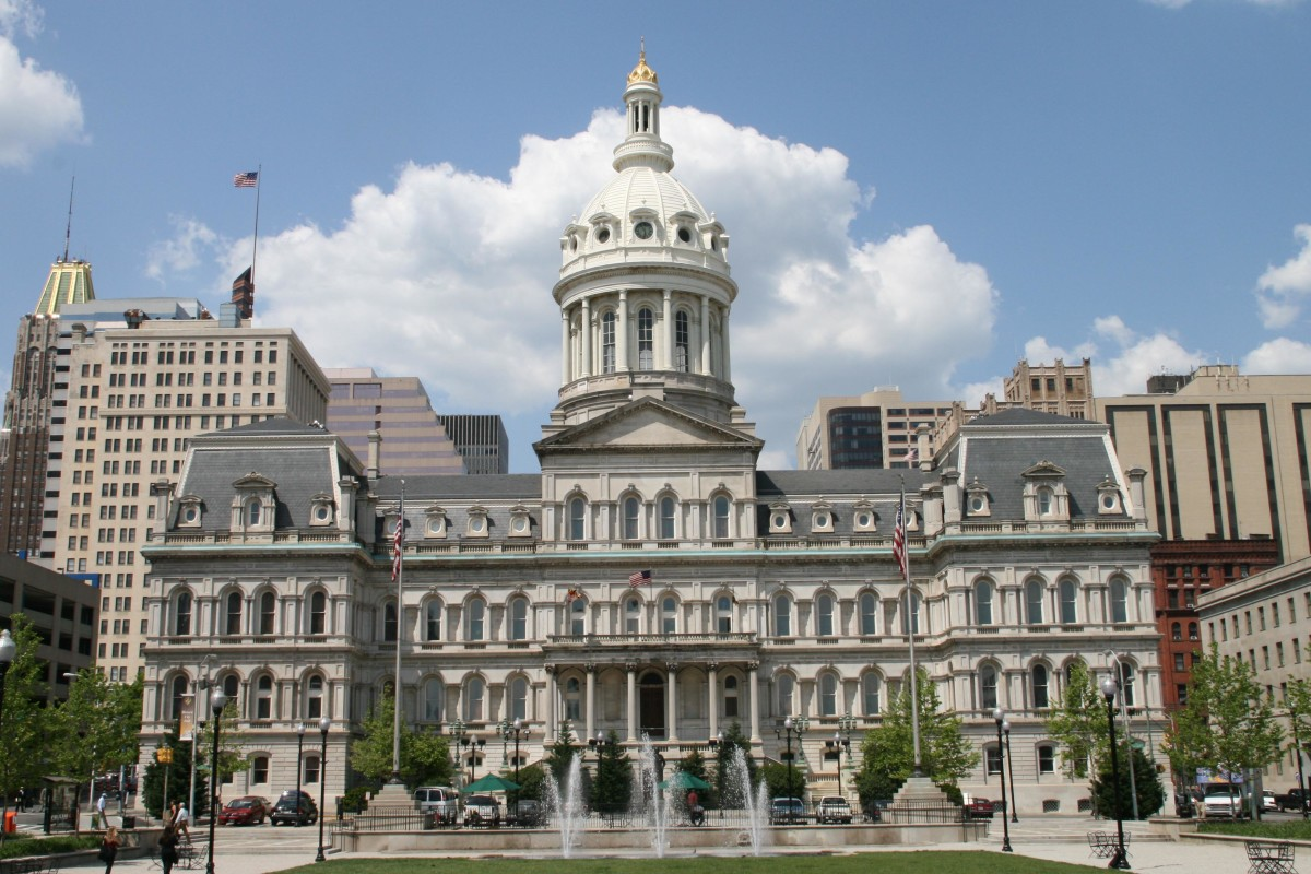 Baltimore City Hall. (Photo: Wikimedia Commons)