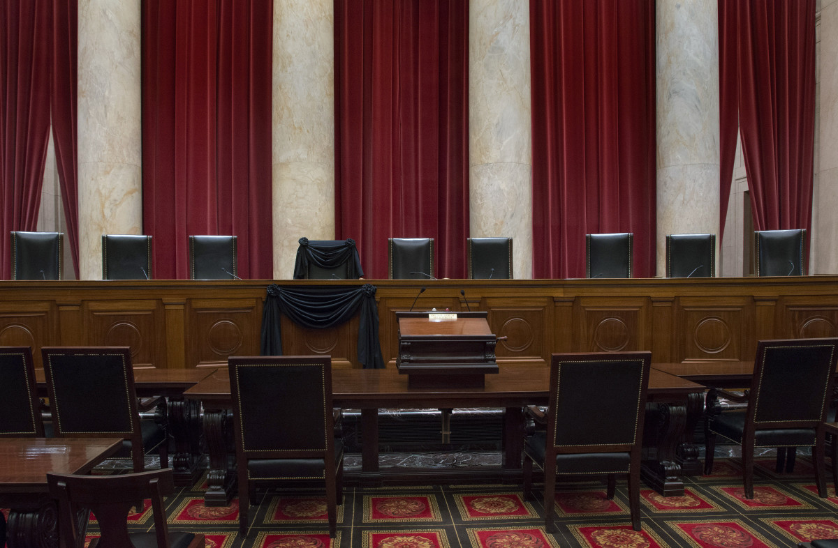 (Photograph: Franz Jantzen/Collection of the Supreme Court of the United States via Getty Images)