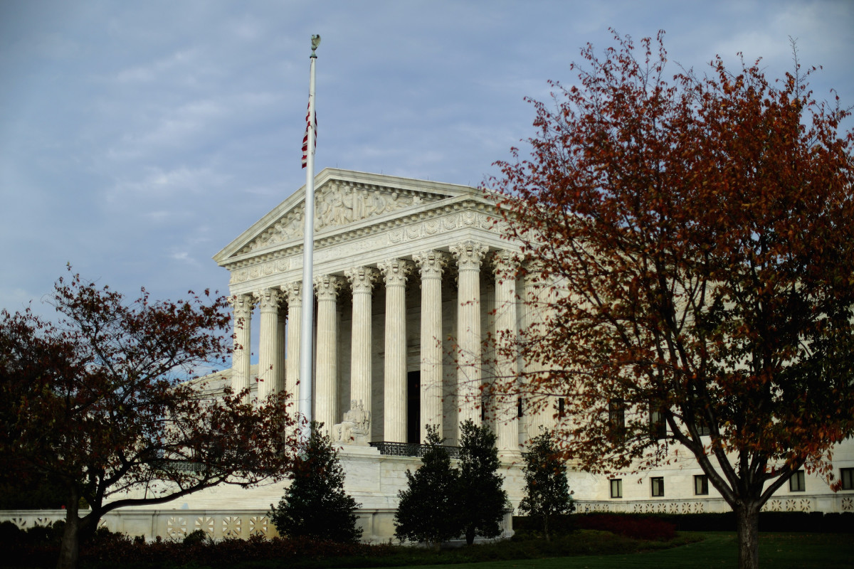 The United States Supreme Court building as seen on November 6, 2015. (Photo: Chip Somodevilla/Getty  Images)