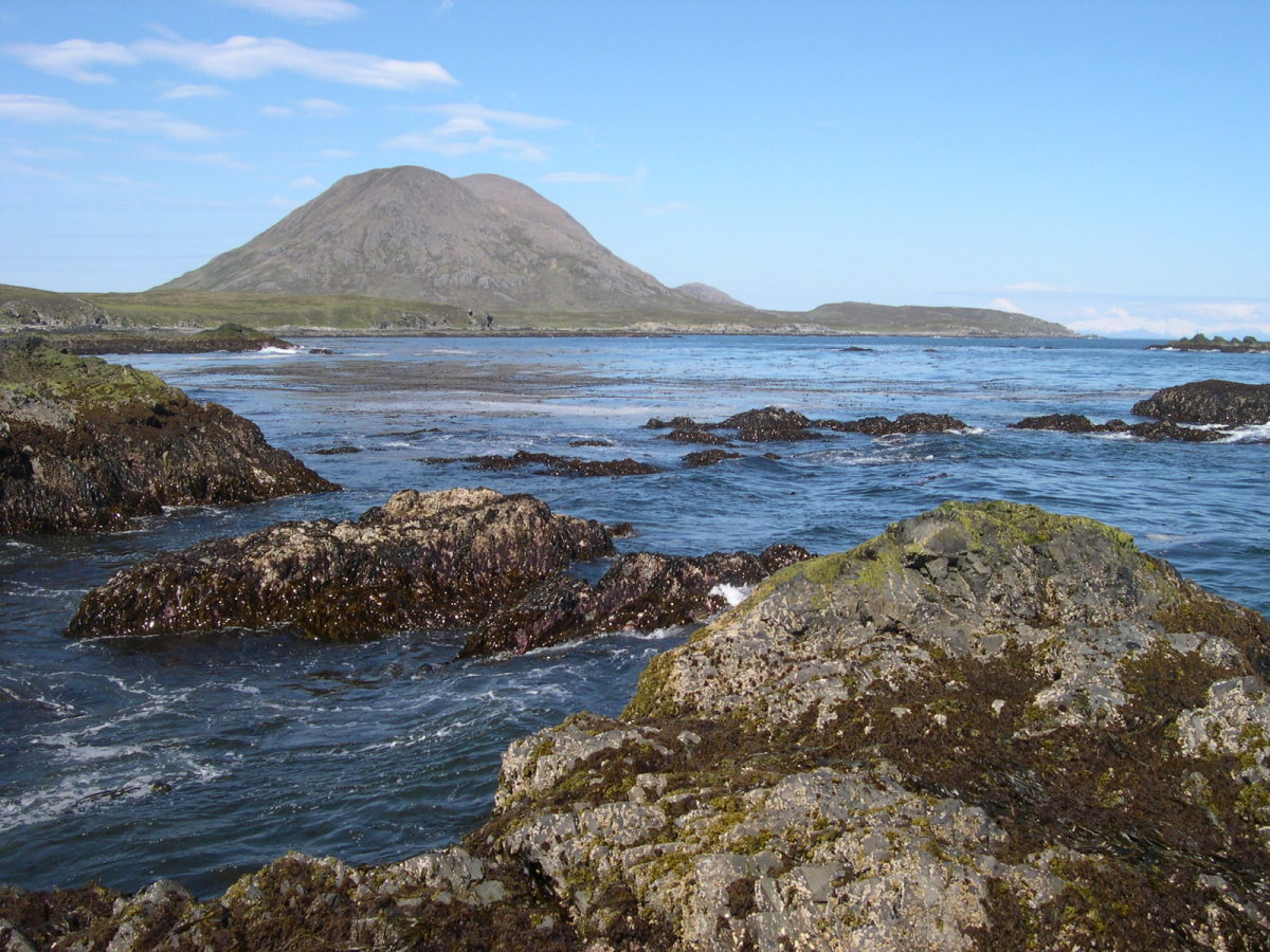 Sanak Peak from the northern side of Sanak Island. (Photo: Wikimedia Commons)