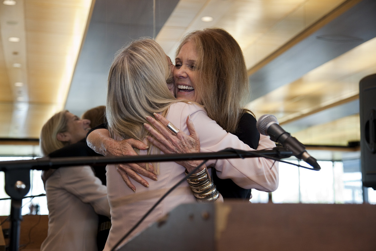 Gloria Steinem's recent comments about younger women ignited a conversation about feminism's generation gap. (Photo: jewishwomensarchive/Flickr)