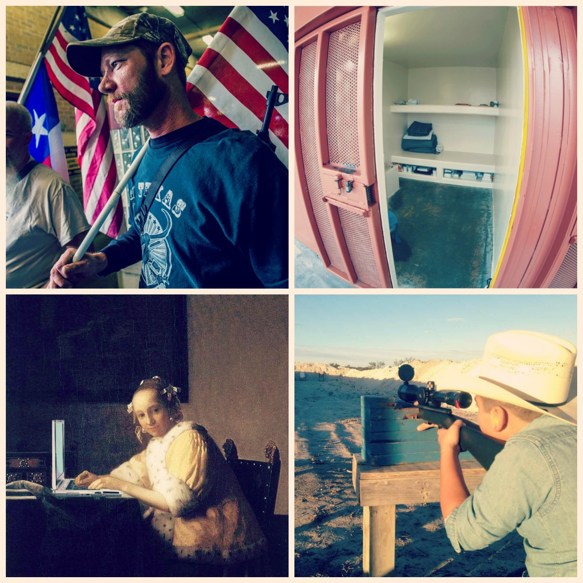 (Photos, clockwise from left: Drew Anthony Smith/the California Department of Corrections and Rehabilitation/Wikimedia Commons/Mike Licht)