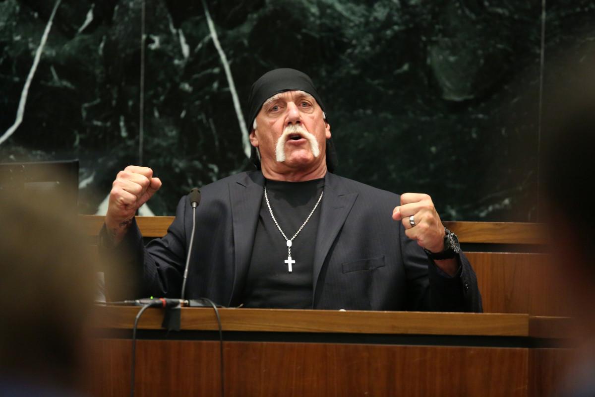 Hulk Hogan. (Photo: John Pendygraft-Pool/Getty Images)
