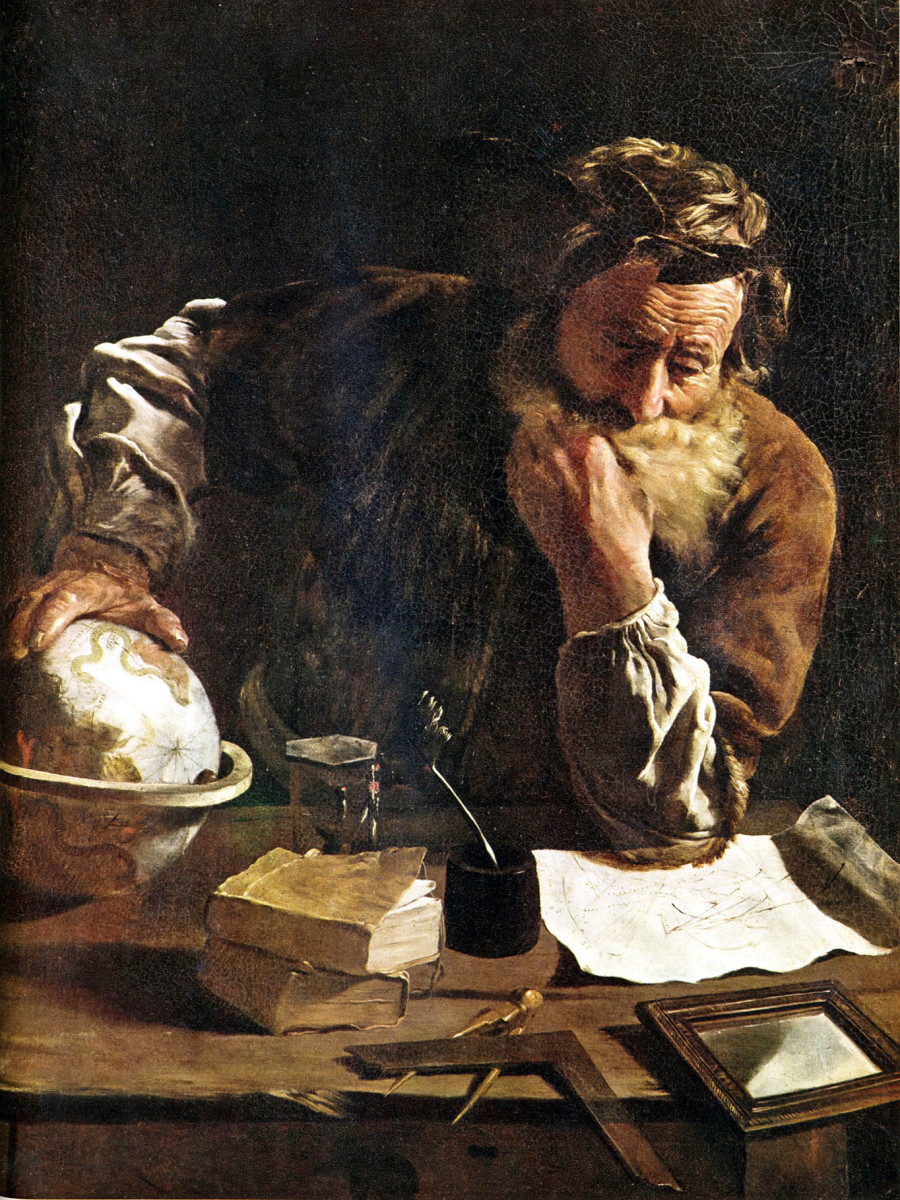 Archimedes Thoughtful, by Fetti. (Photo: Wikimedia Commons)
