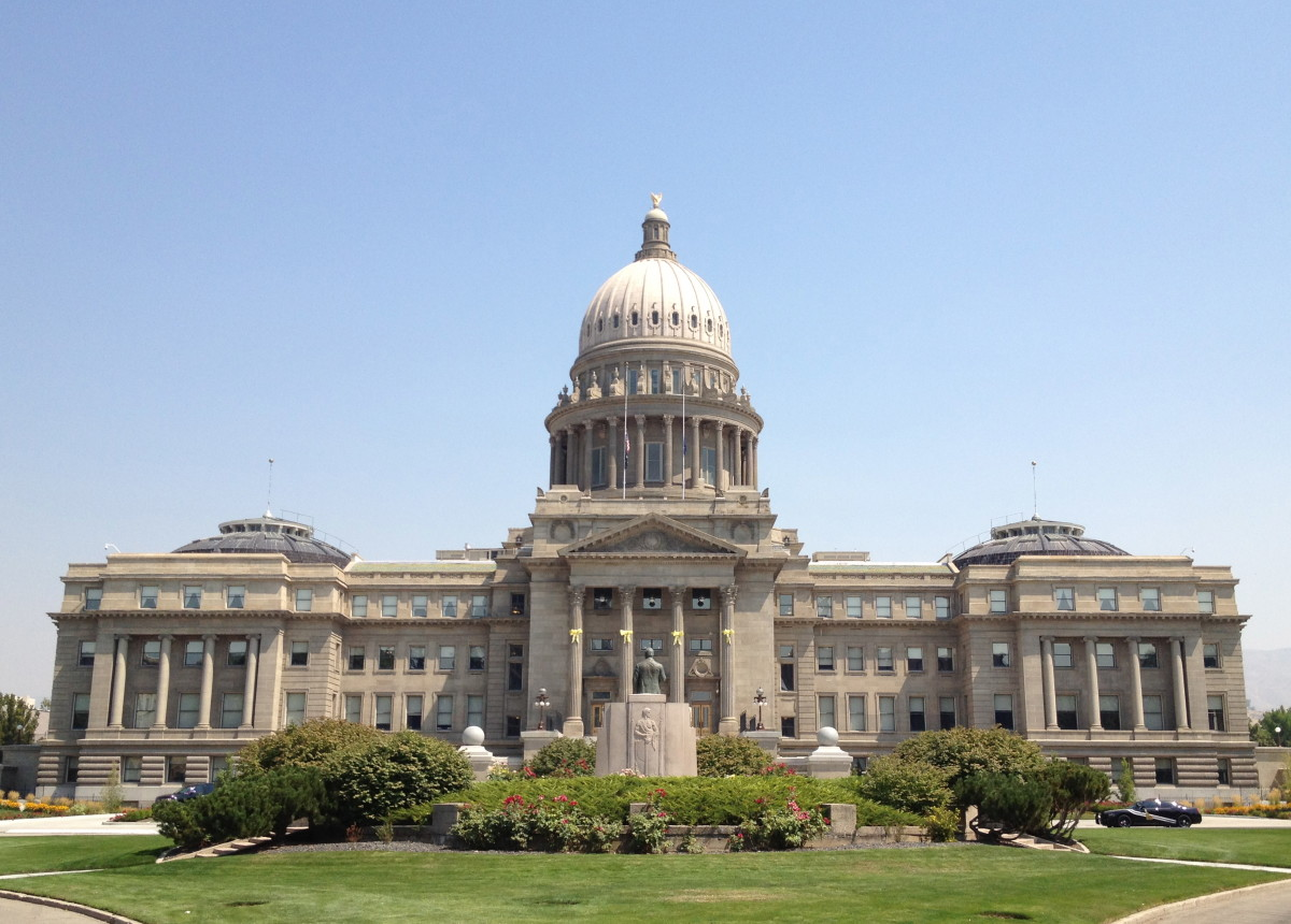 Idaho State Capitol. (Photo: Wikimedia Commons)