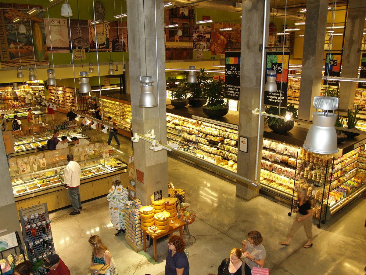The Whole Foods Market in Manhattan. (Photo: David Shankbone/Wikimedia Commons)