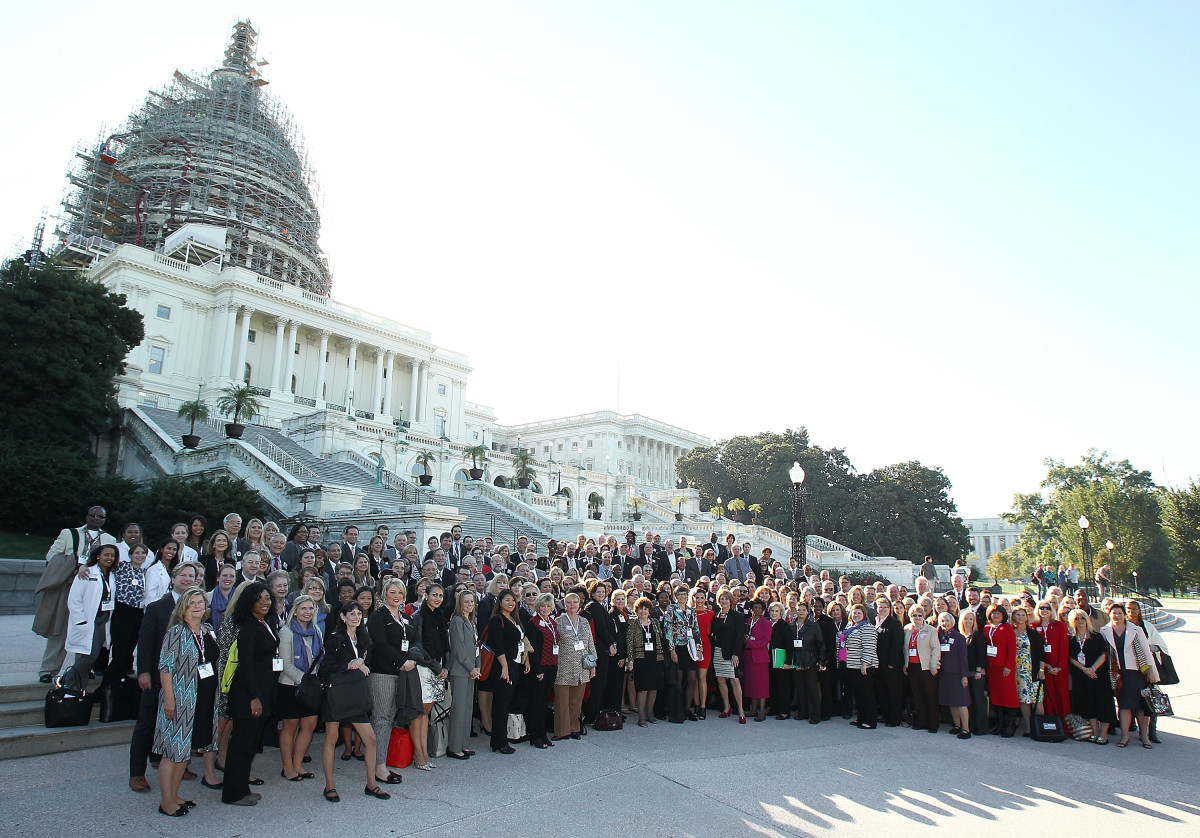 Groups advocate for  mental health at the United States Capitol on October 6, 2015, in Washington, D.C.  (Photo: Paul  Morigi/Getty Images for Be Vocal)