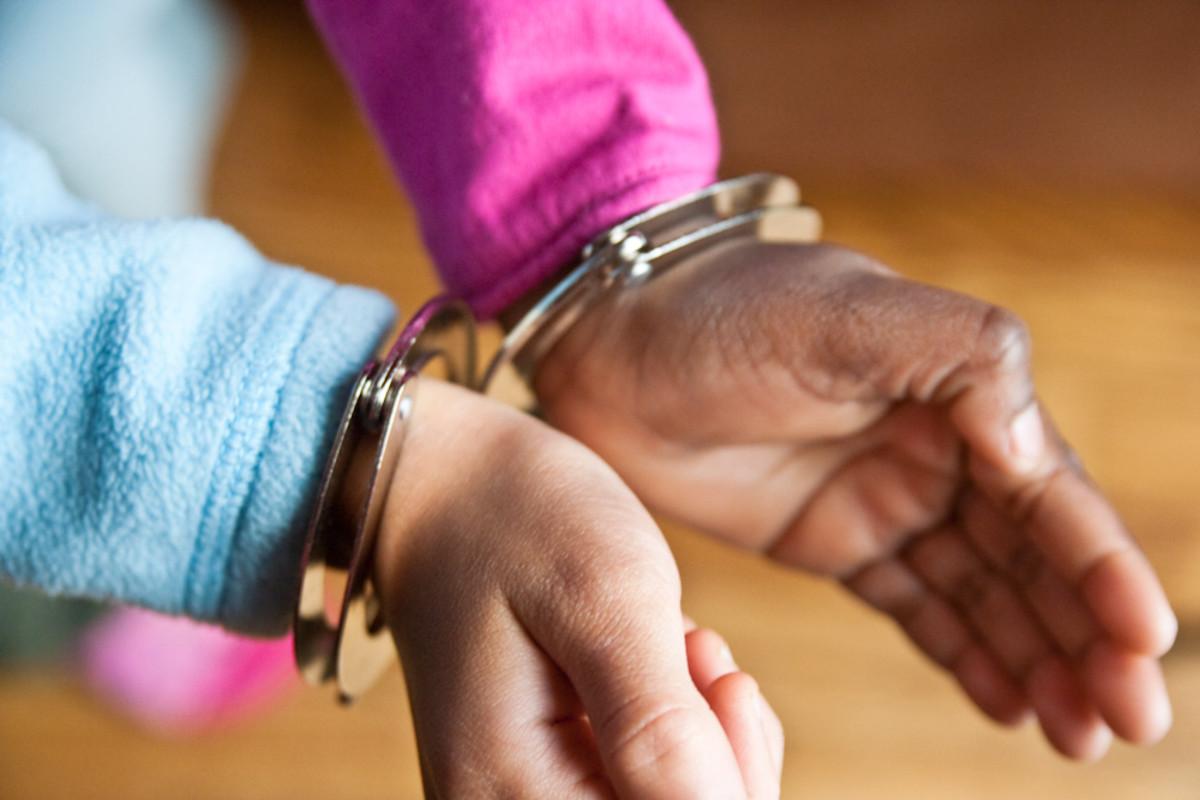 school handcuffs