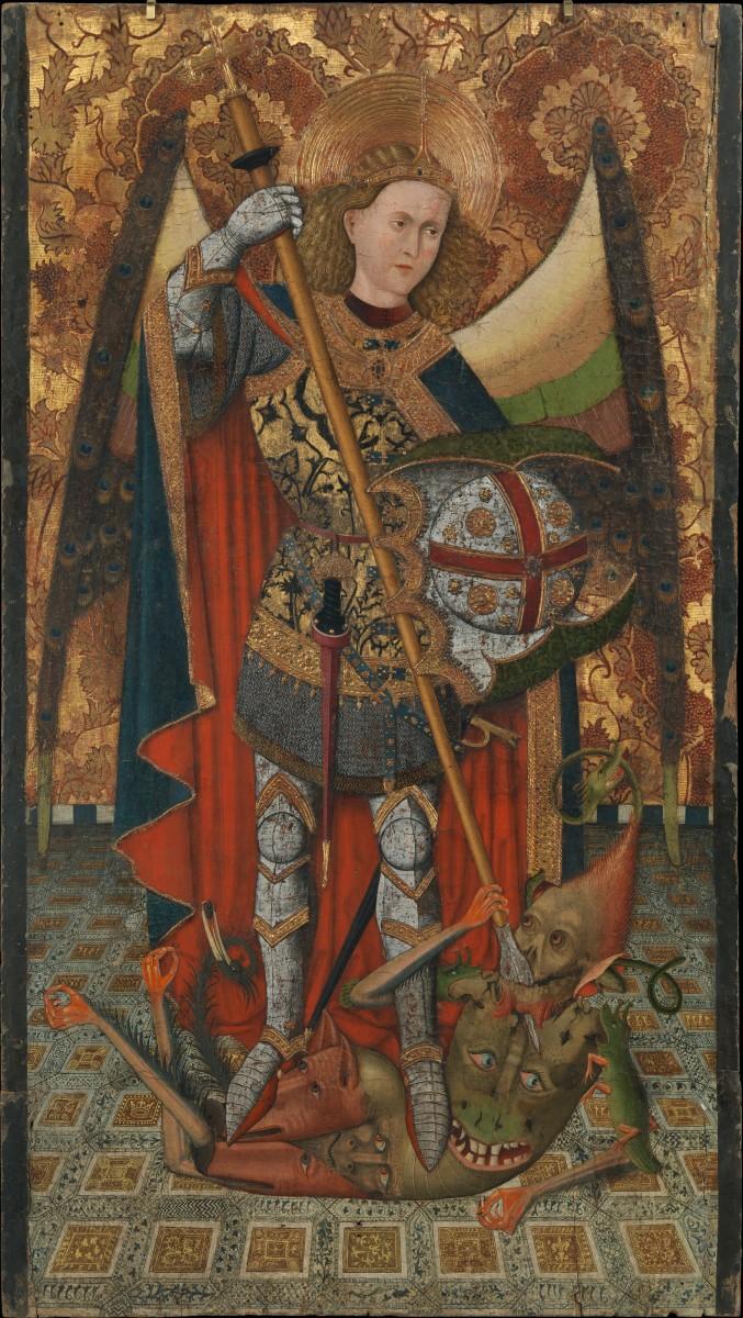 Saint Michael, Master of Belmonte. (Photo: Wikimedia Commons)