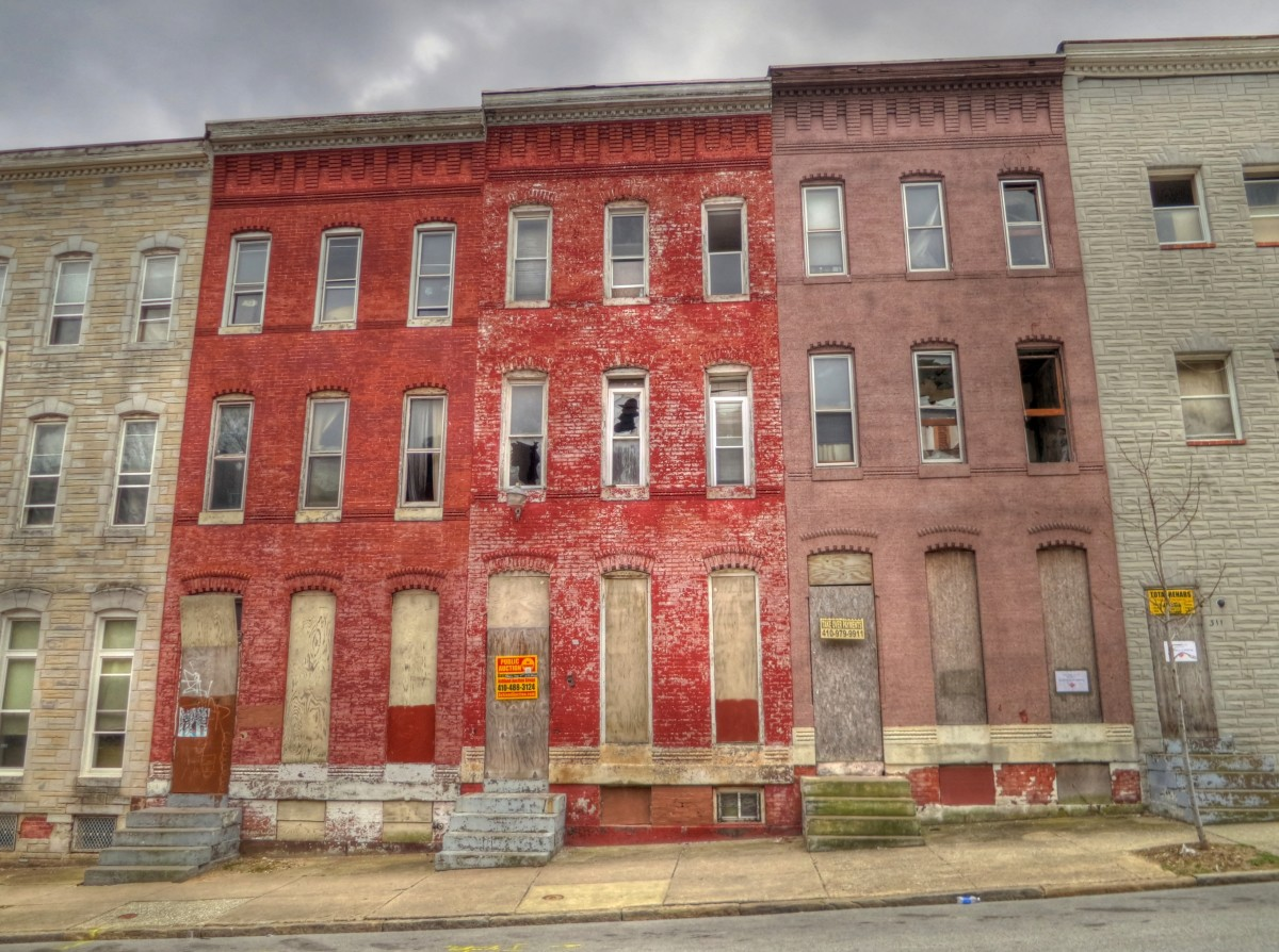 Foreclosed house in Baltimore, Maryland. (Photo: Oleg./Flickr)