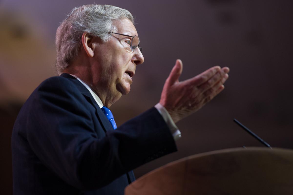 Senator Mitch McConnell. (Photo: Christopher Halloran/Shutterstock)