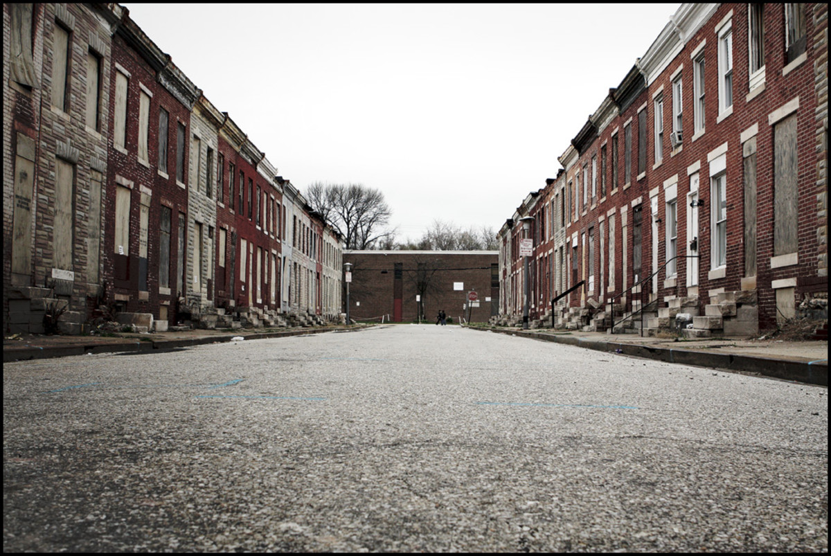 Perlman Street in Baltimore, Maryland. (Photo: Dorret/Flickr)