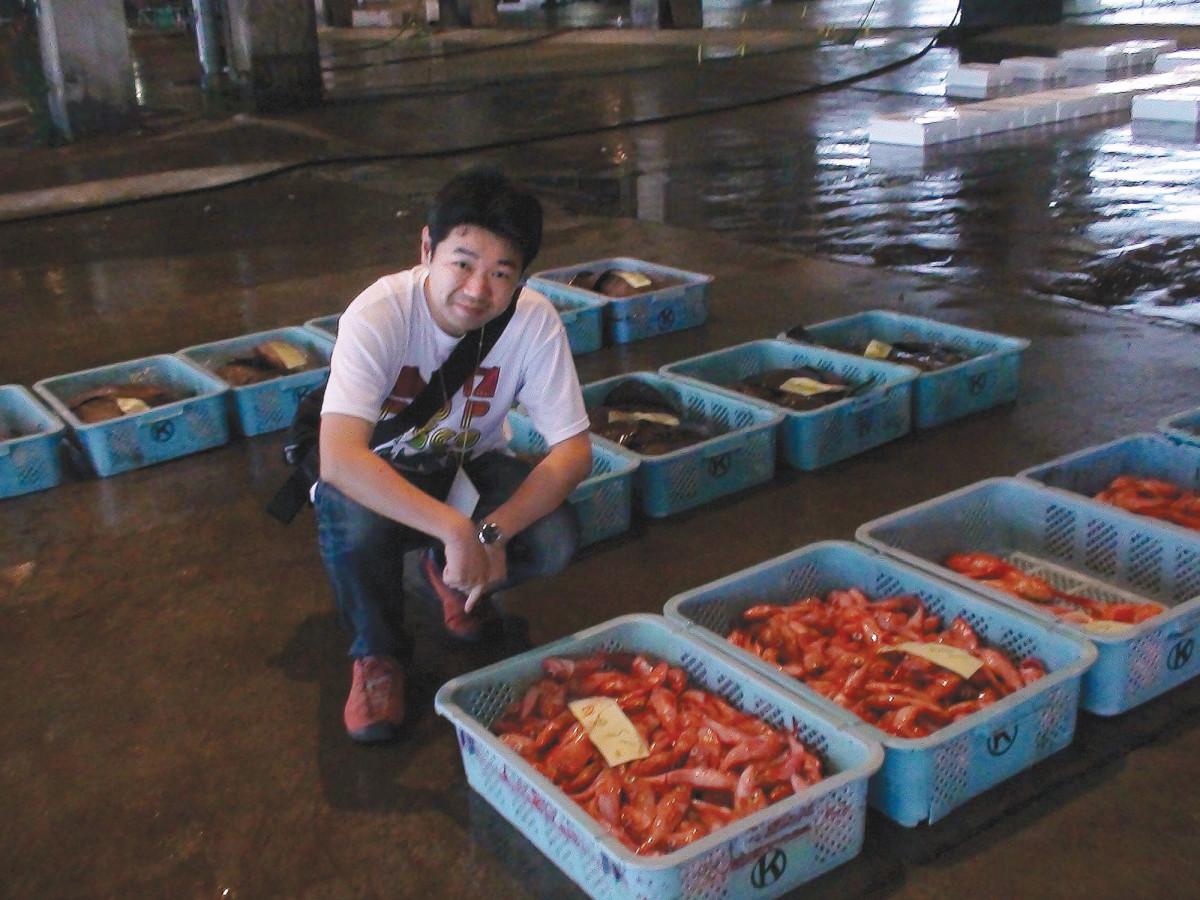 Toshio Katsukawa writes a hugely popular blog about fish. (Photo: Toshio Katsukawa)
