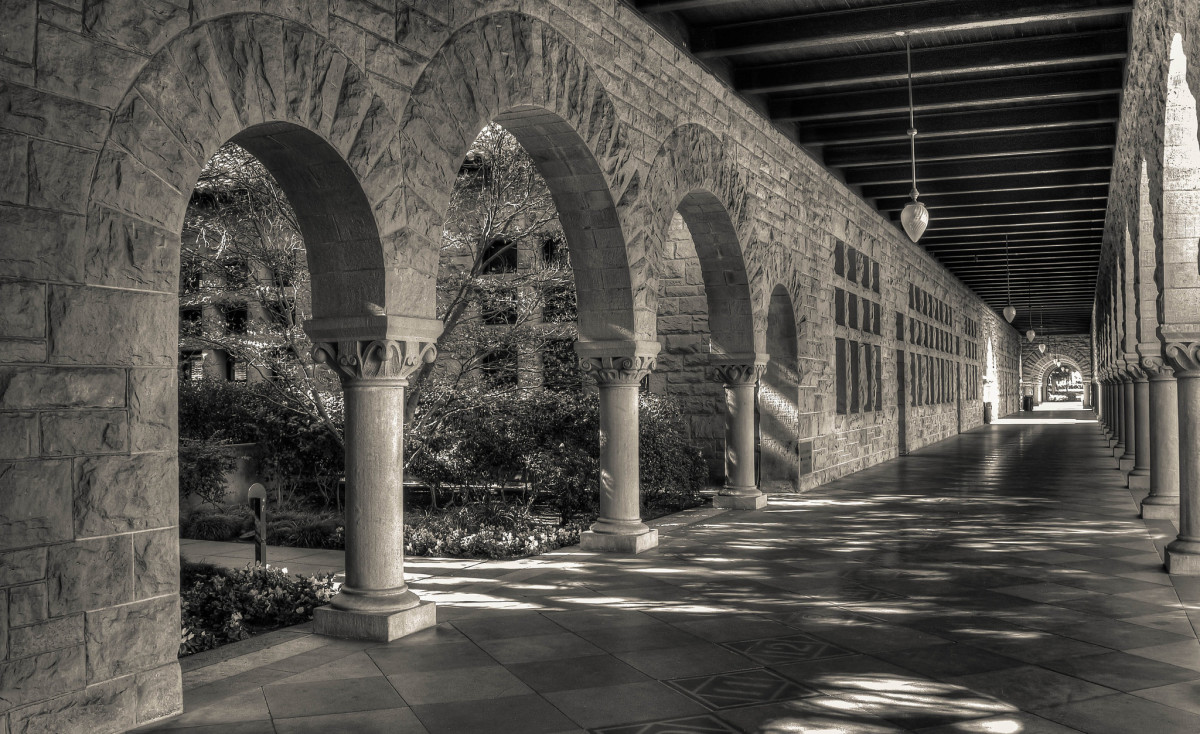 On the campus of Stanford University. (Photo: Brandon/Flickr)