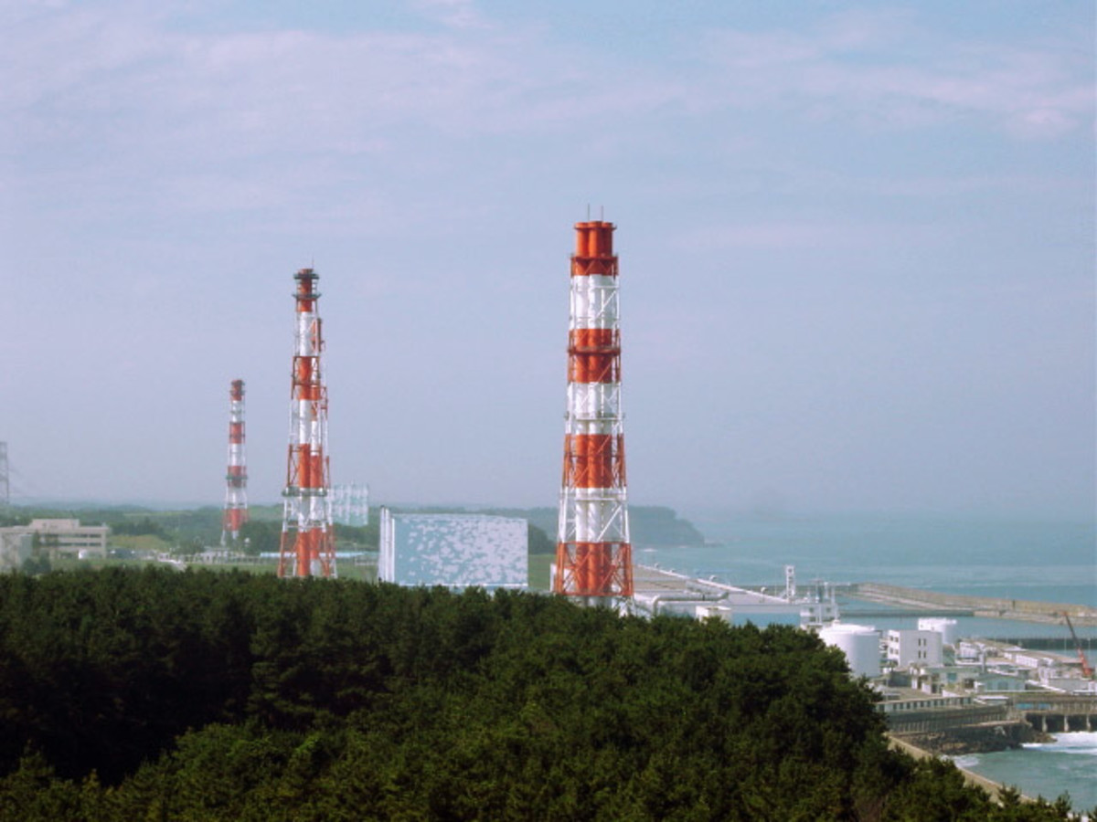 Fukushima Daiichi Nuclear Power Plant in 2002. (Photo: KEI/Wikimedia Commons)
