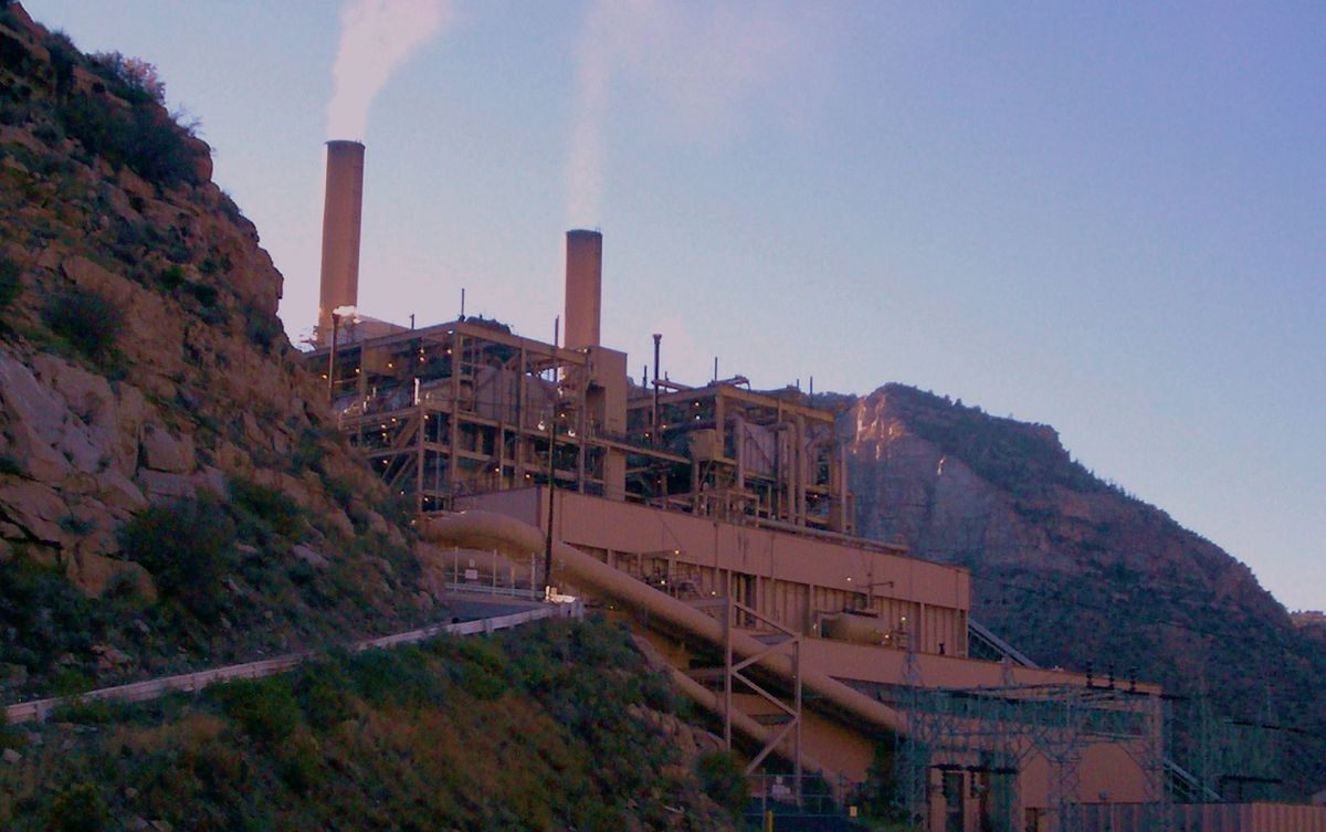 The Carbon Power Plant near Helper, Utah. (Photo: David Jolley/Wikimedia Commons)