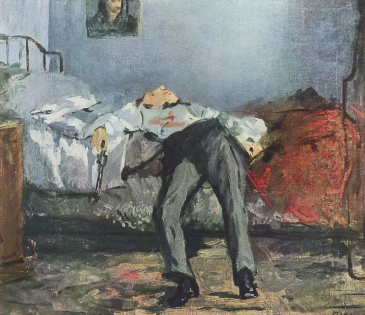 The Suicide by Édouard Manet 1877-81. (Photo: Public Domain)