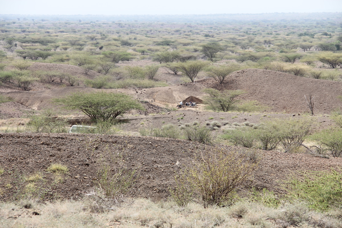 View of the excavation site in Kenya. (Photo: MPK-WTAP)