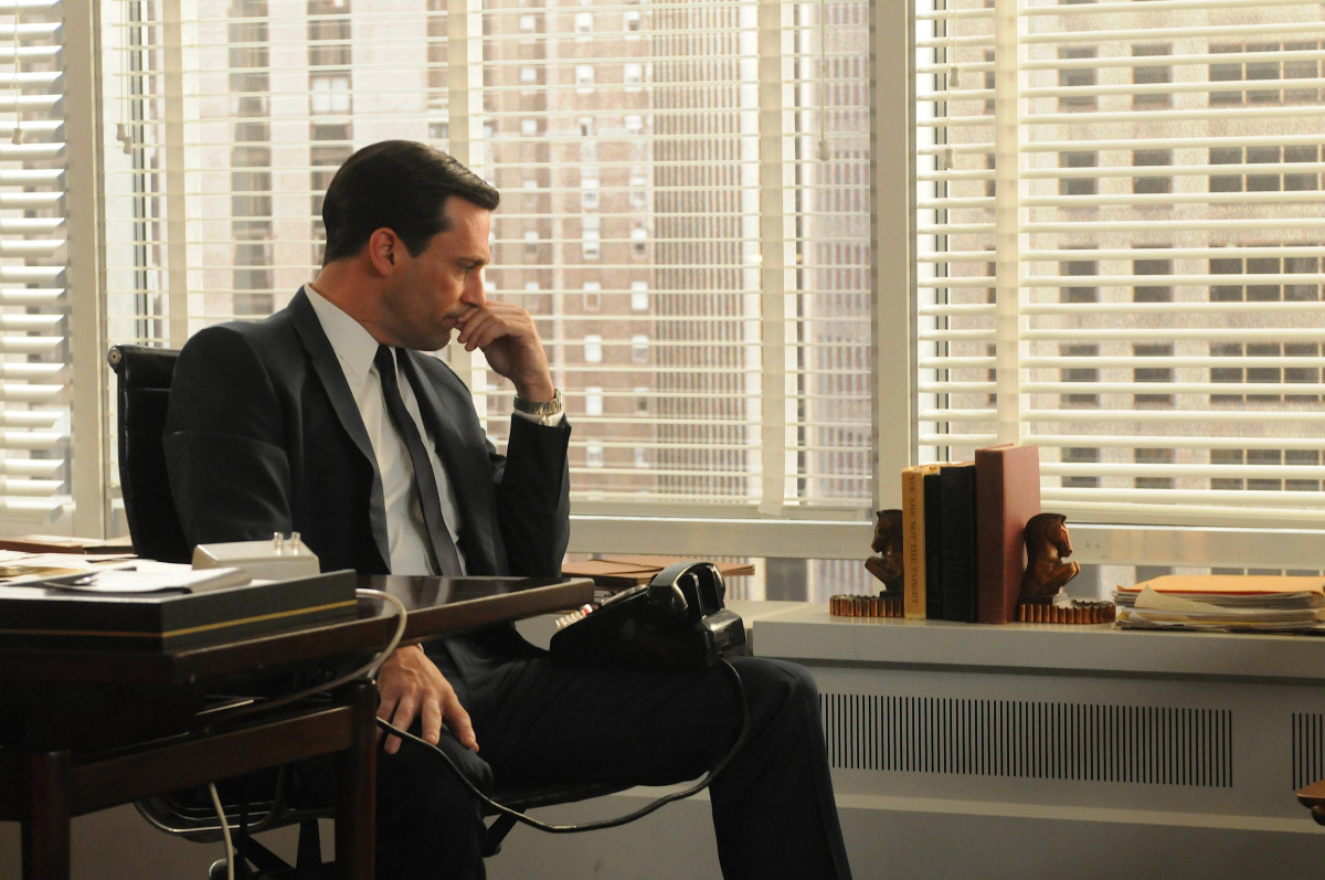 Jon Hamm as Don Draper on Mad Men. (Photo: AMC)