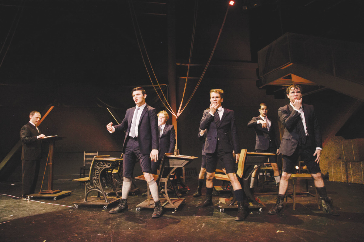 Deaf West Theatre's Spring Awakening was picked up for a second run. (Photo: Tate Tuller)