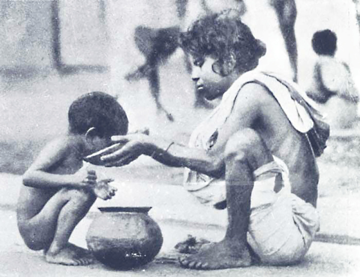 Millions died in the Bengal famine of 1943-44 even though India's food production remained high. (Photo: Reuters)