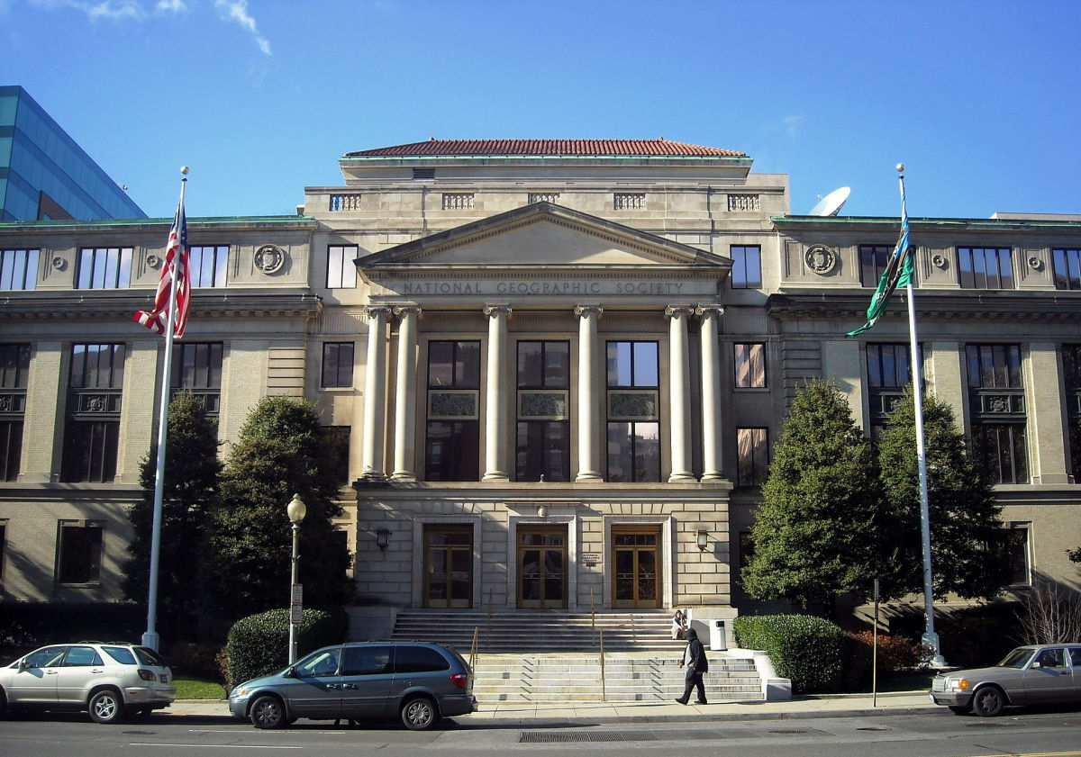 National Geographic Society's administration building in Washington, D.C. (Photo: AgnosticPreachersKid/Wikimedia Commons)