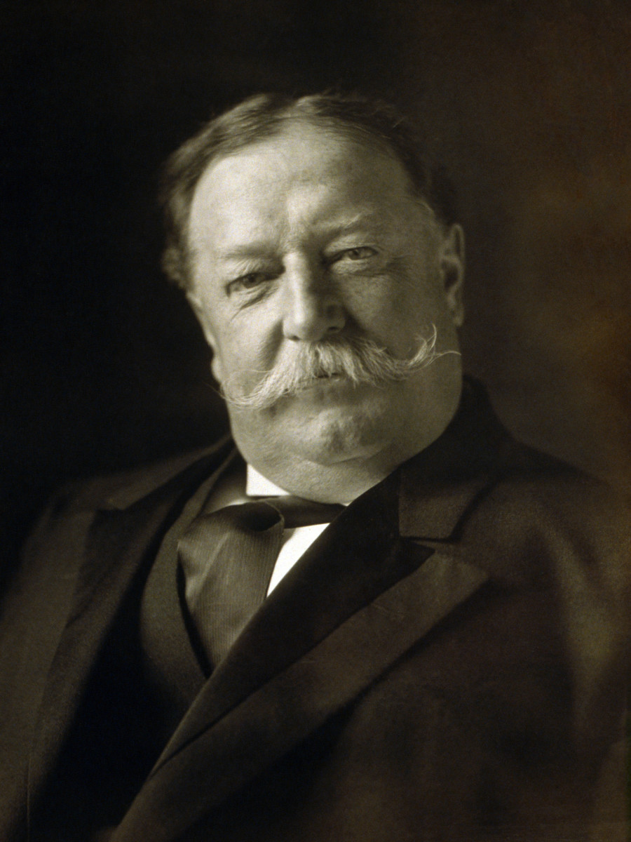 President William Howard Taft. (Photo: Public Domain)