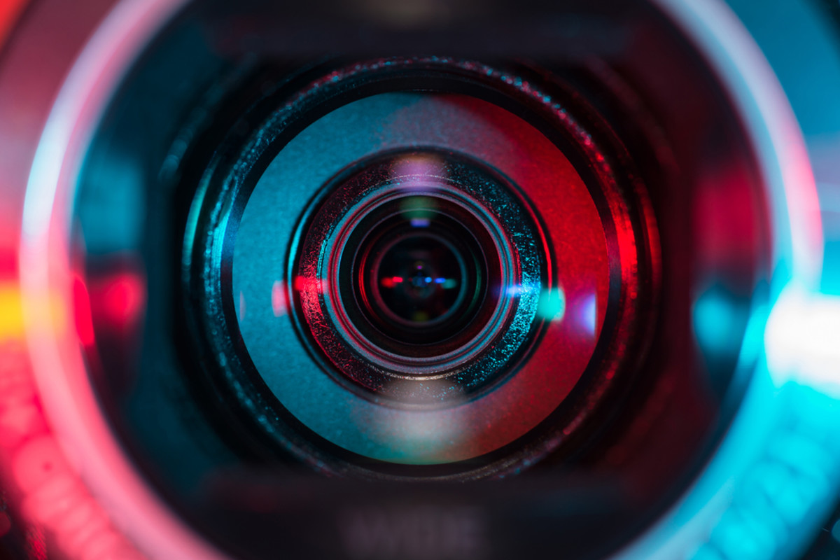 A video camera lens that may be watching you. (Photo: Denniro/Shutterstock)