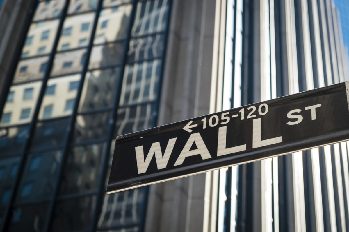 Wall St. in New York City, New York. (Photo: Robert Crum/Shutterstock)