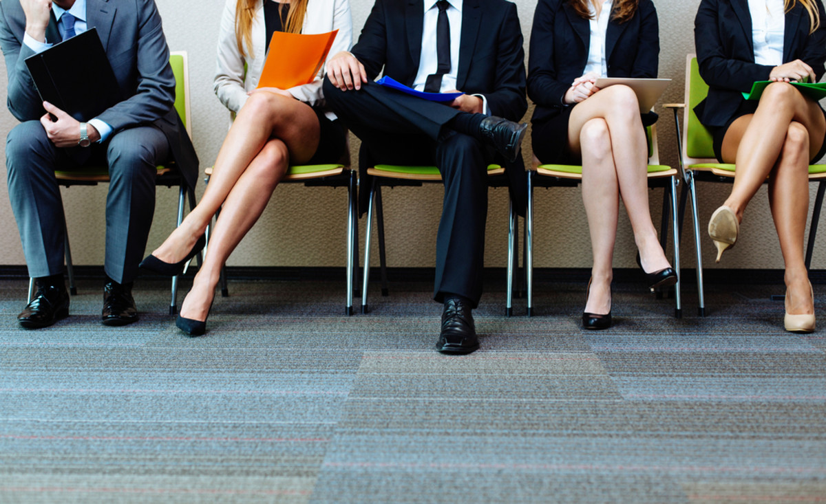 Waiting for a job interview. (Photo: baranq/Shutterstock)