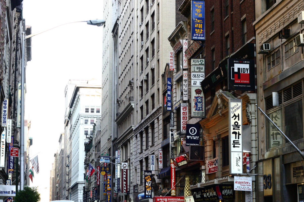 Koreatown in New York City, New York. (Photo: audrey_sel/Flickr)