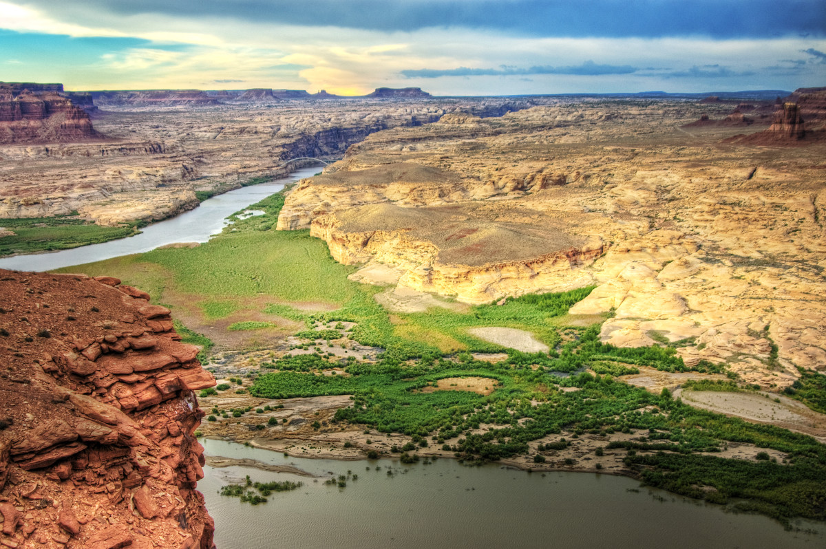 Colorado River. (Photo: wolfgangstaudt/Flickr)