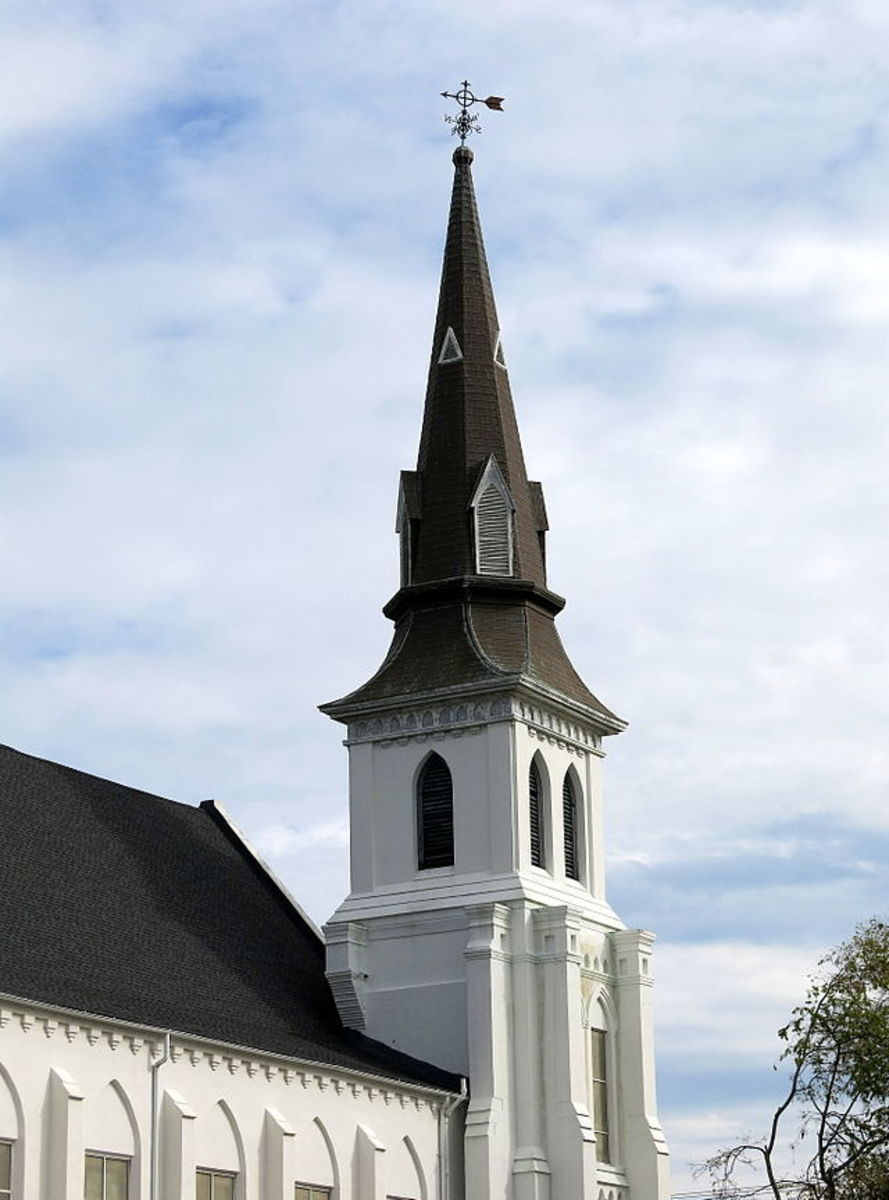 Emanuel African Methodist Episcopal Church. (Photo: Wikimedia Commons)