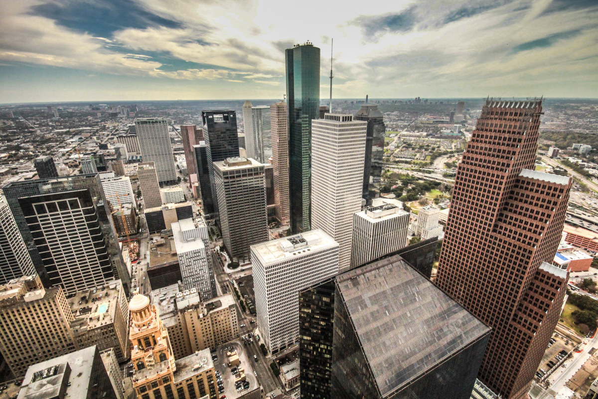 Downtown Houston, Texas. (Photo: Sarath Kuchi/Flickr)