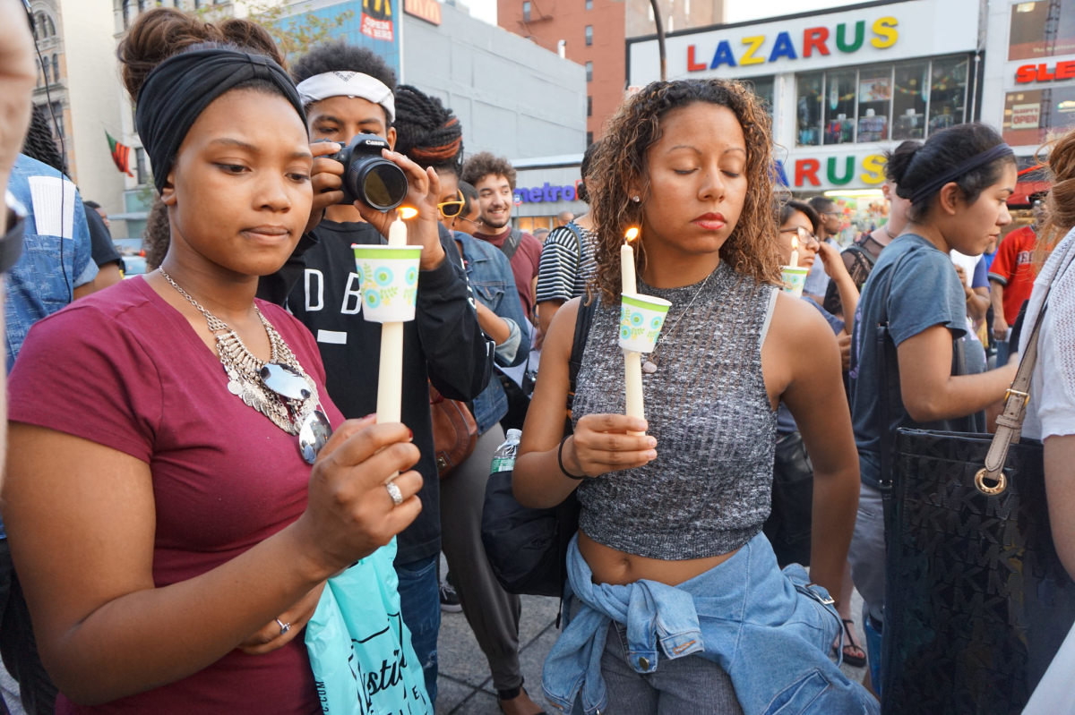 NYC Stands With Charleston vigil and rally on June 22, 2015. (Photo: The All-Nite Images/Flickr)