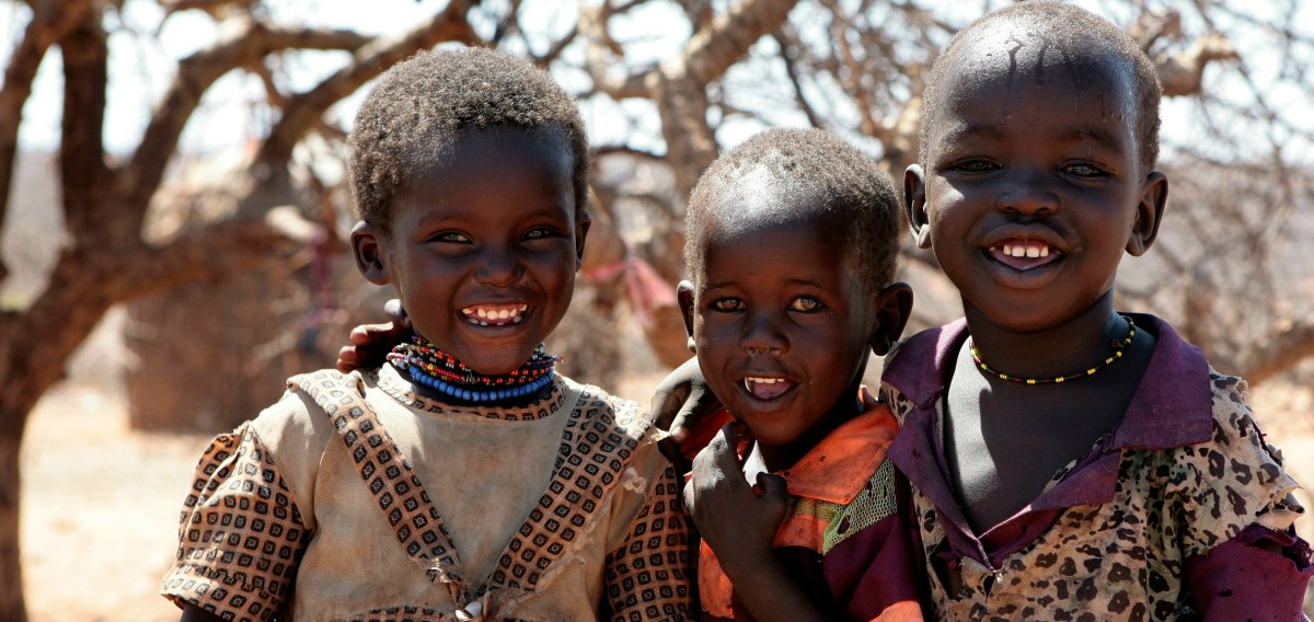 Samburu children. (Photo: Aftab Uzzaman/Flickr)