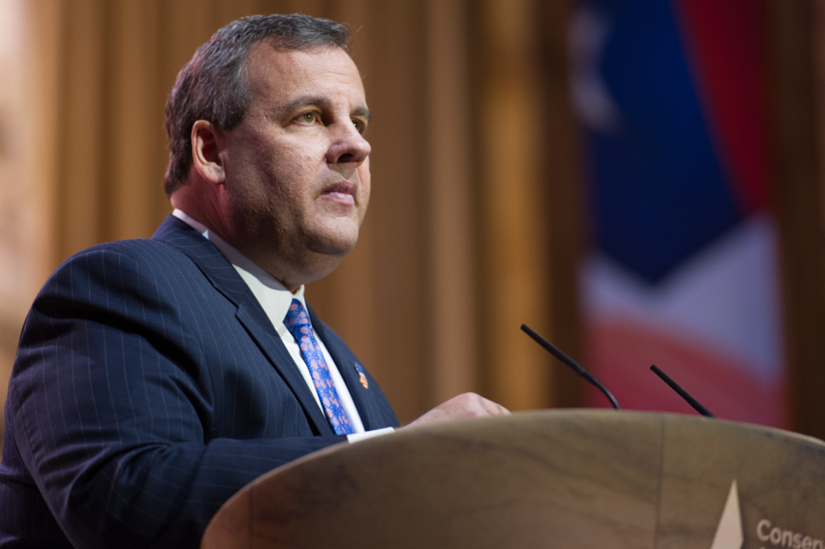 New Jersey Governor Chris Christie speaks at the Conservative Political Action Conference. (Photo: Christopher Halloran/Shutterstock)