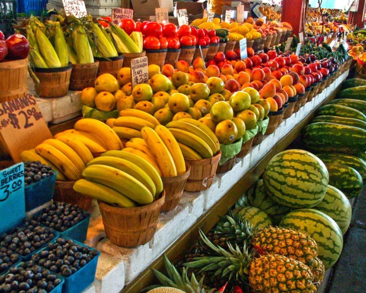Farmers market in Dallas, Texas. (Photo: Allen Sheffield/Flickr)