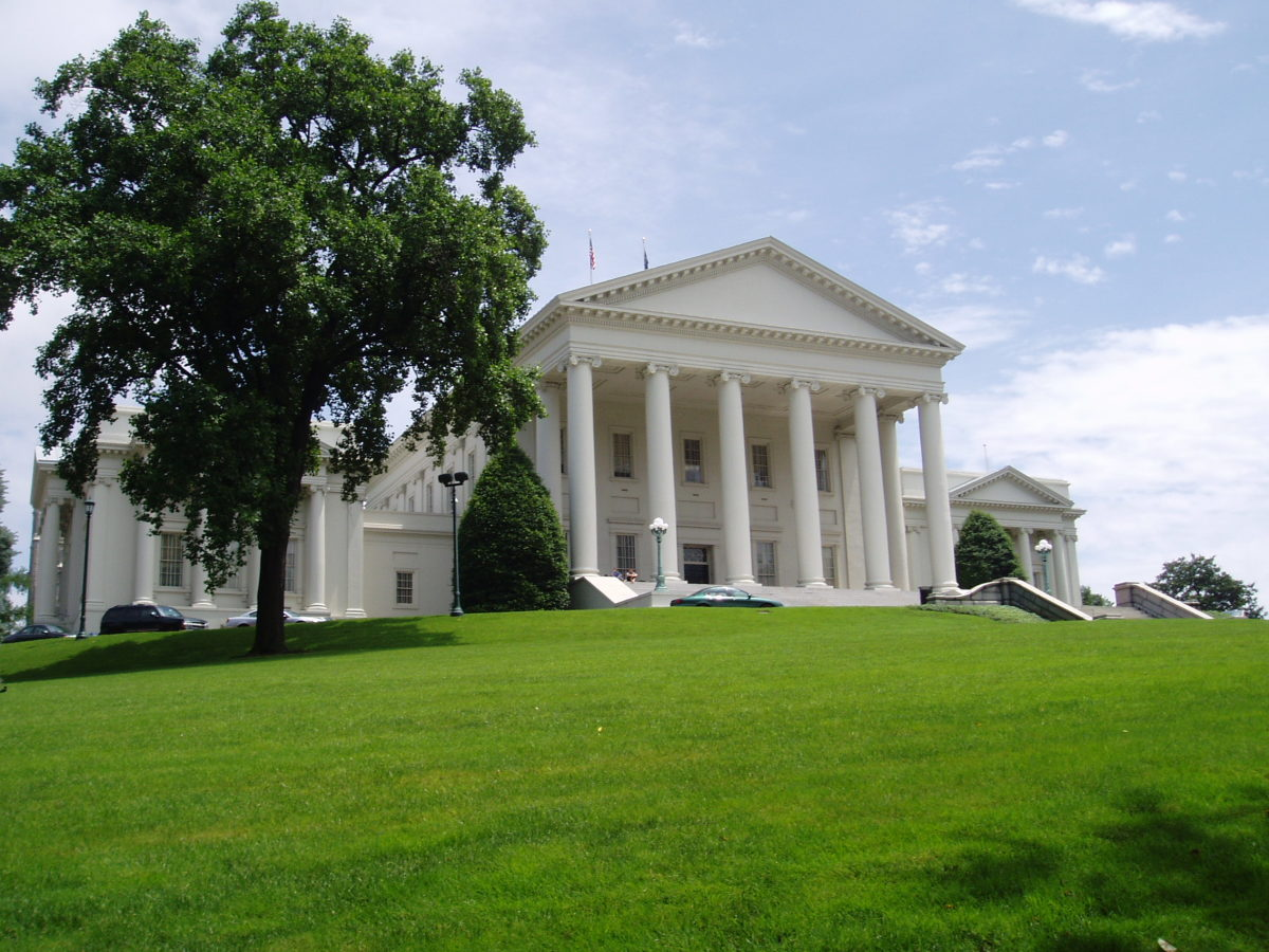 The Virginia State Capitol in June 2003. (Photo: Anderskev/Wikimedia Commons)