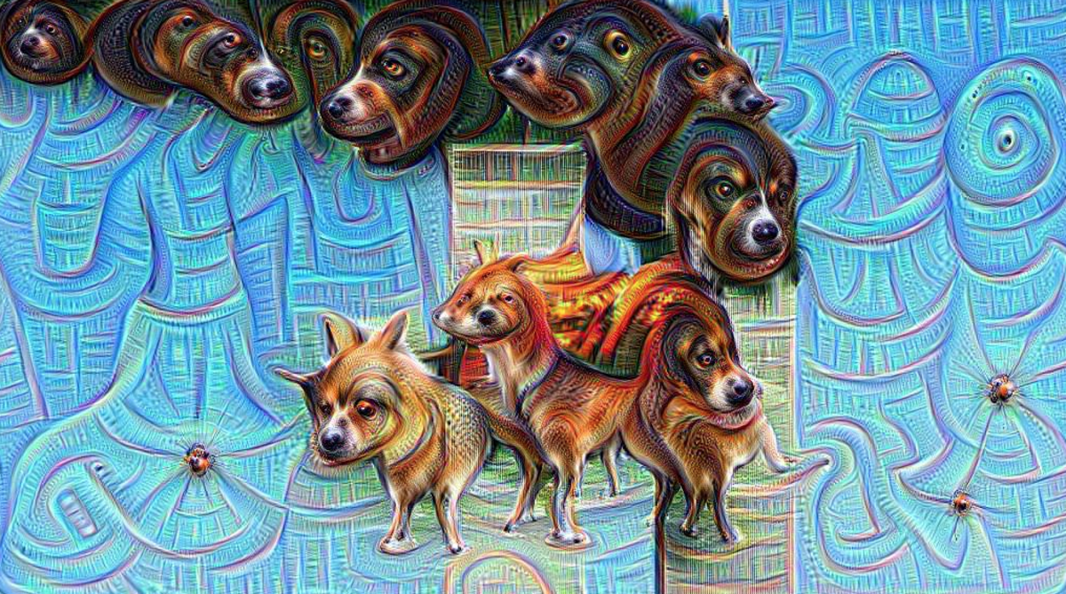 A Google Deep Dream rendering of the September 11, 2001, attack on the Twin Towers. (Photo: Matěj Schneider/Twitter)