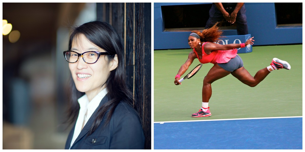 Left: Ellen Pao (Photo: Christopher Michel/Flickr); Serena Williams (Photo: Boss Tweed/Flickr)