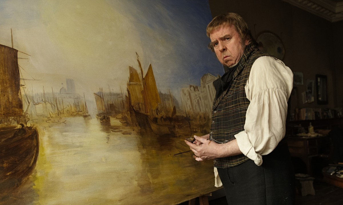 Timothy Spall in Mr. Turner. (Photo: Entertainment One)