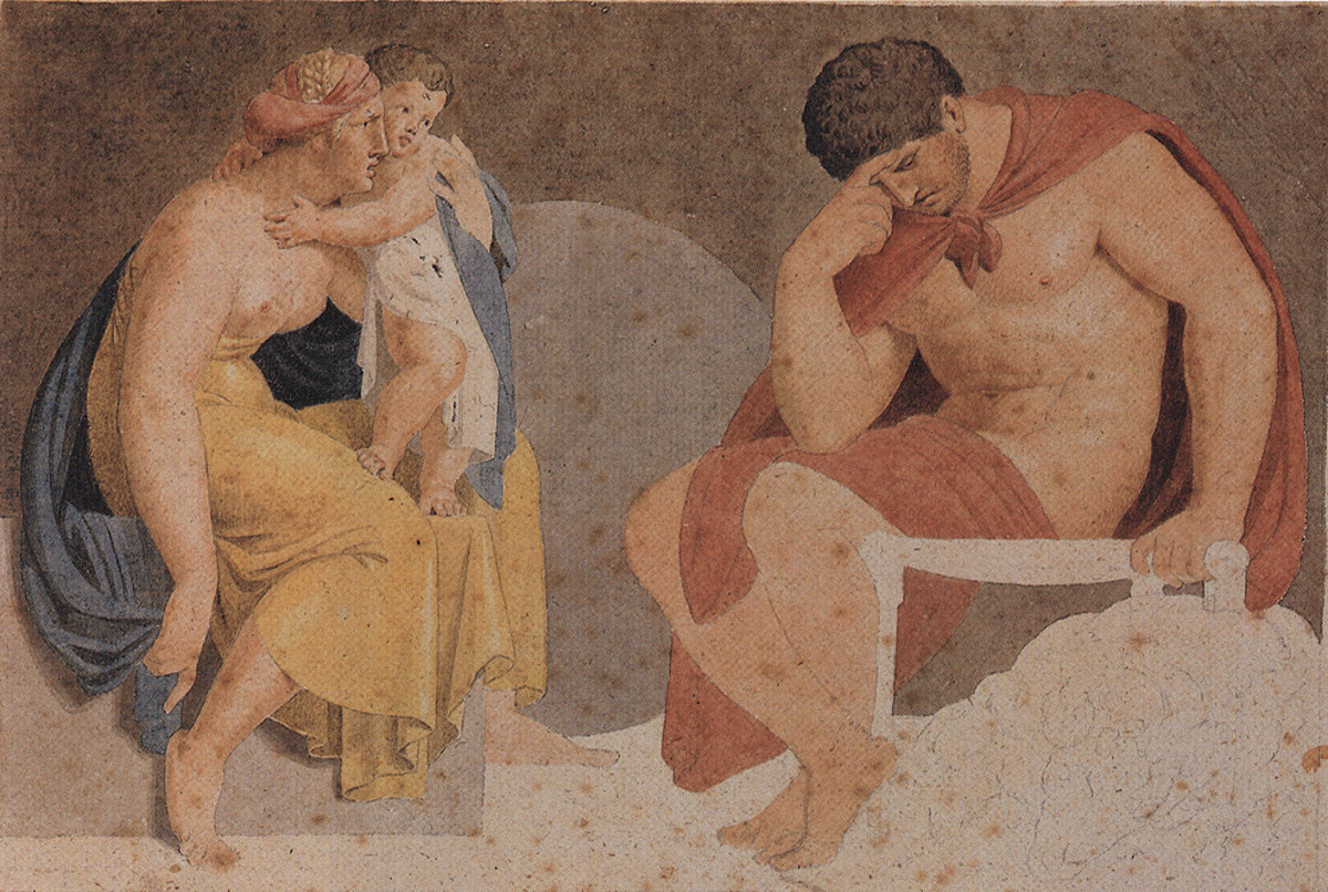 The sorrowful, mythological hero Ajax. (Photo: Jdsteakley/Wikimedia Commons)