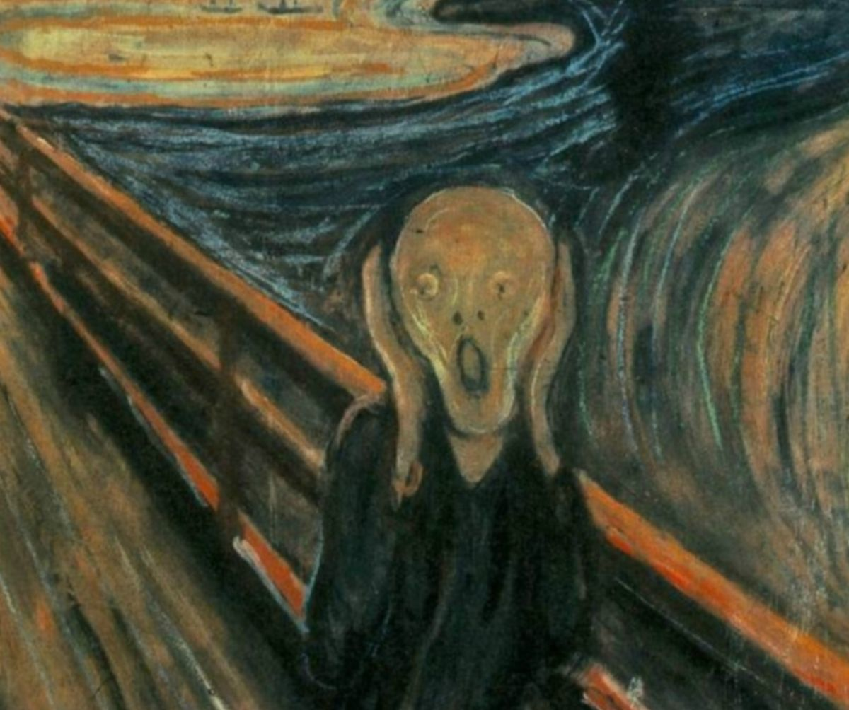 Edvard Munch knows a thing or two about screams. (Photo: Cinzing/Wikimedia Commons)
