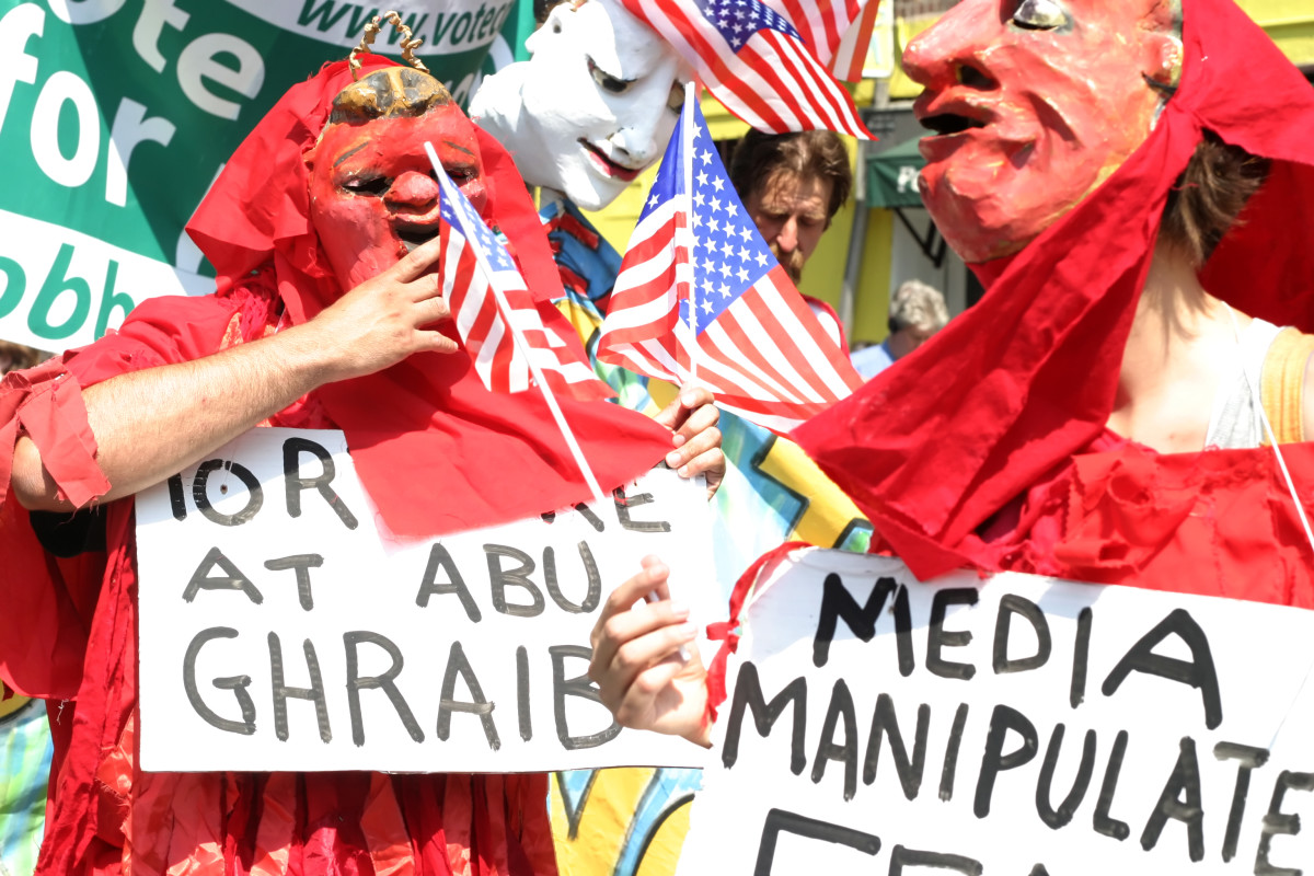 abu ghraib torture protest