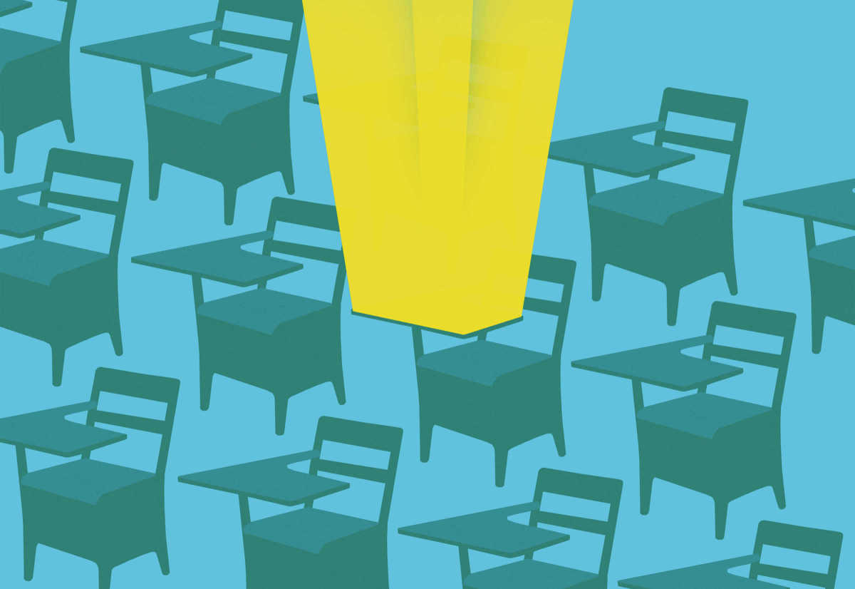 The rise of the omniscient classroom. (Illustration: Brian Stauffer)