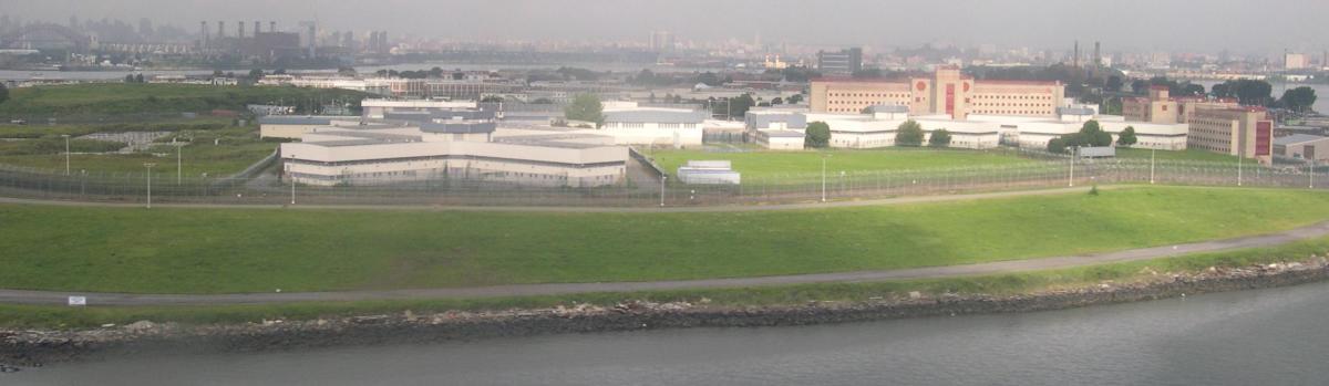 Rikers Island. (Photo: Sfoskett/Wikimedia Commons)